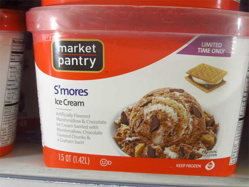 smores ice cream container